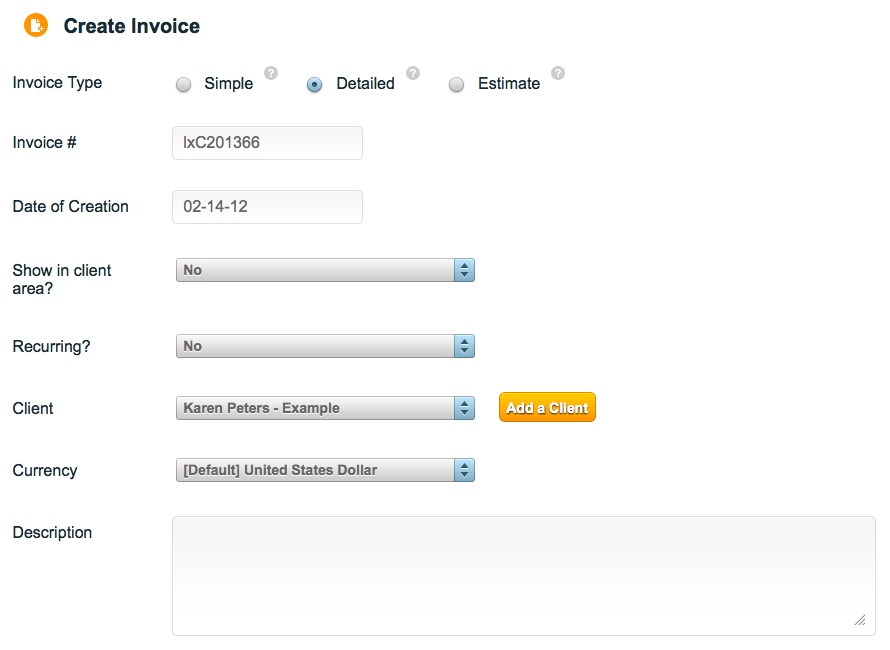 Fill In Some Basic Information About The Invoice  How To Do Invoices